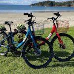 bike on beach!